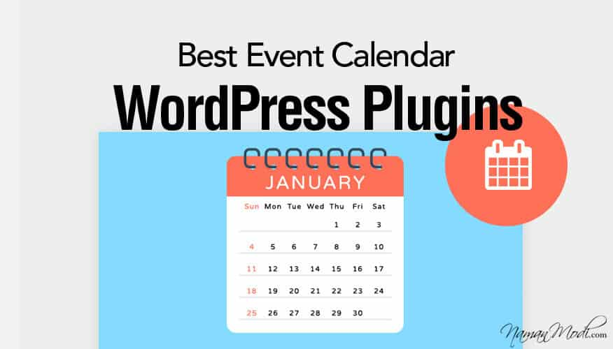 Best Event Calendar WordPress Plugins NamanModi