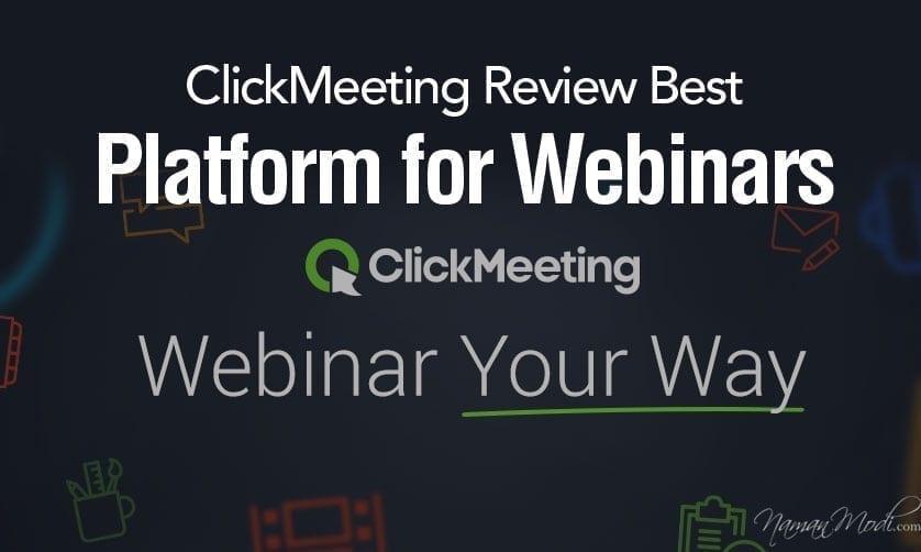 ClickMeeting Review Best Platform for Webinars