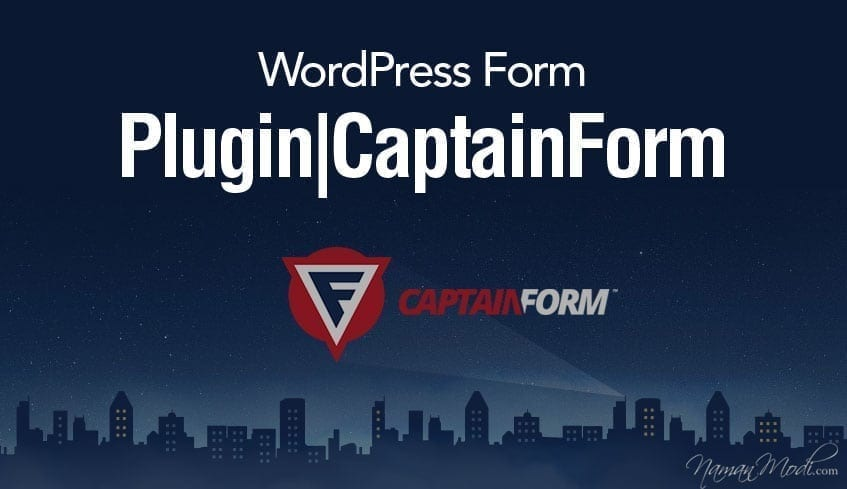WordPress Form Plugin | Captain Form
