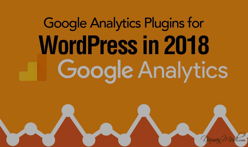 5 Best Google Analytics Plugins for WordPress in 2018