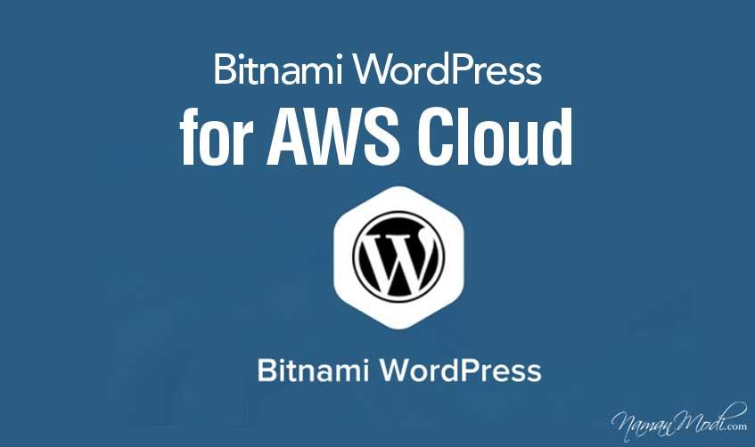 Bitnami WordPress for AWS Cloud