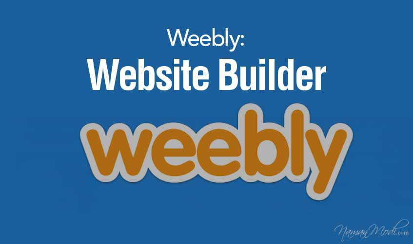 Weebly: Website Builder