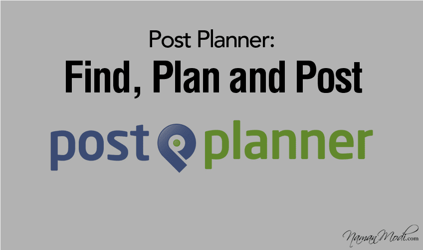 Post Planner: Find, Plan, and Post