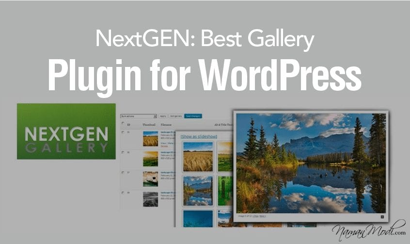 NextGEN: Best Gallery Plugin for WordPress