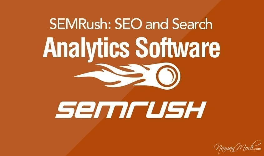 SEMRush: SEO and Search Analytics Software