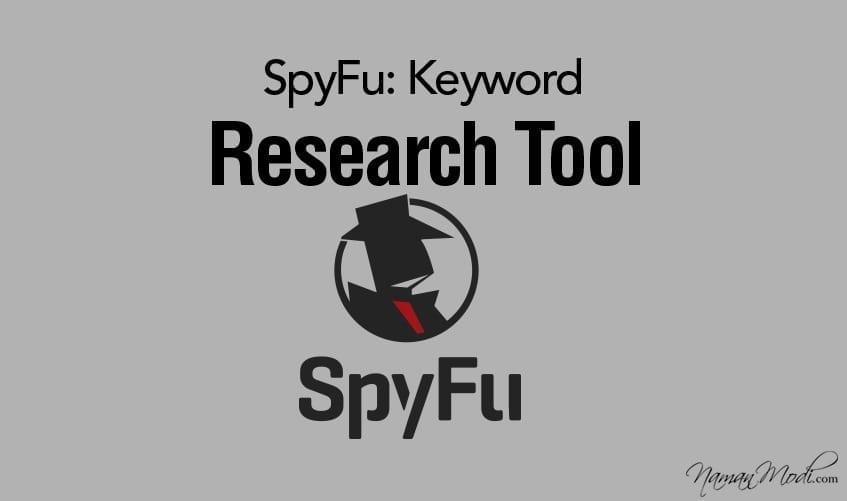 SpyFu: Keyword Research Tool