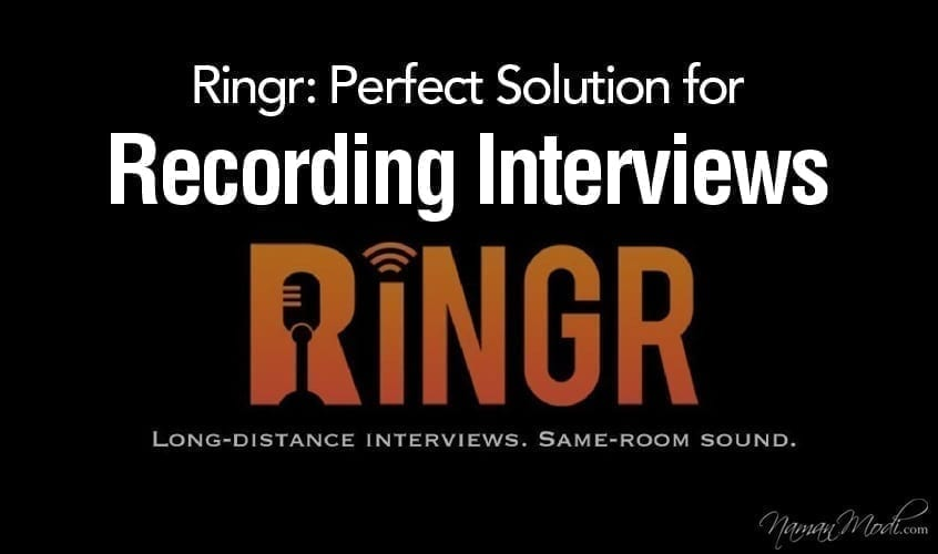 Ringr: Perfect Solution for Recording Interviews