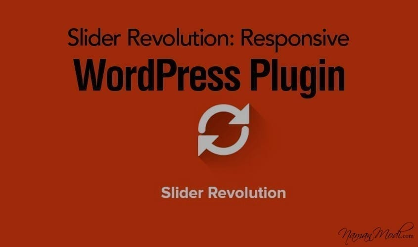 Slider Revolution: Responsive WordPress Plugin