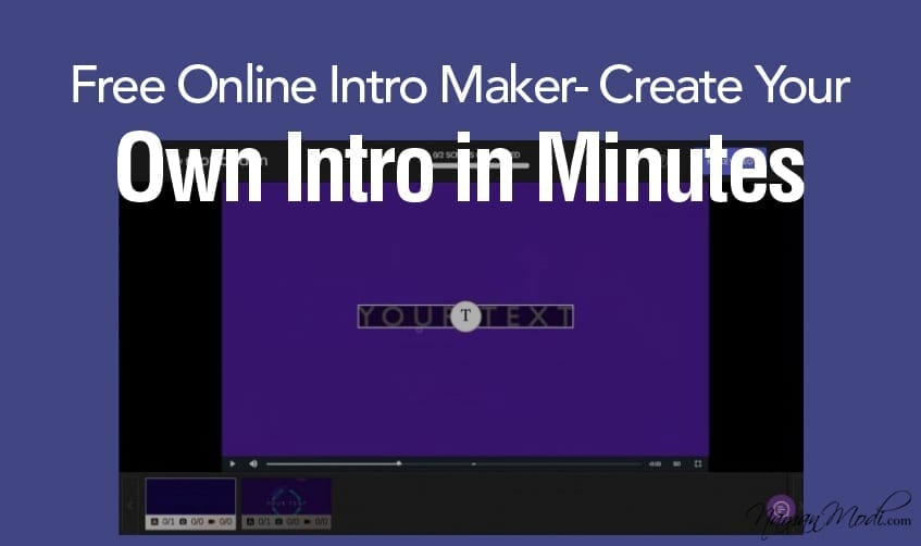 Free Online Intro Maker- Create Your Own Intro in Minutes