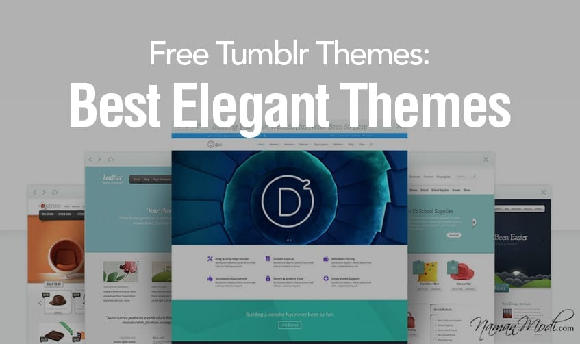 23 Free Tumblr Themes: Best Elegant Themes of 2020