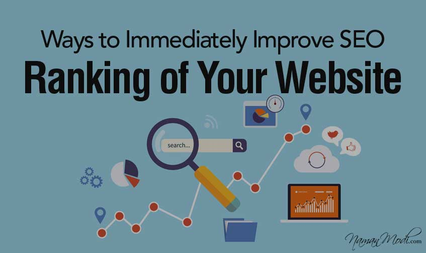13 Ways to Immediately Improve SEO Ranking of Your Website