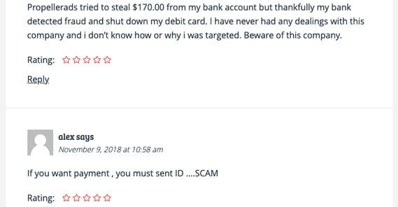 Is Propeller ads scam?