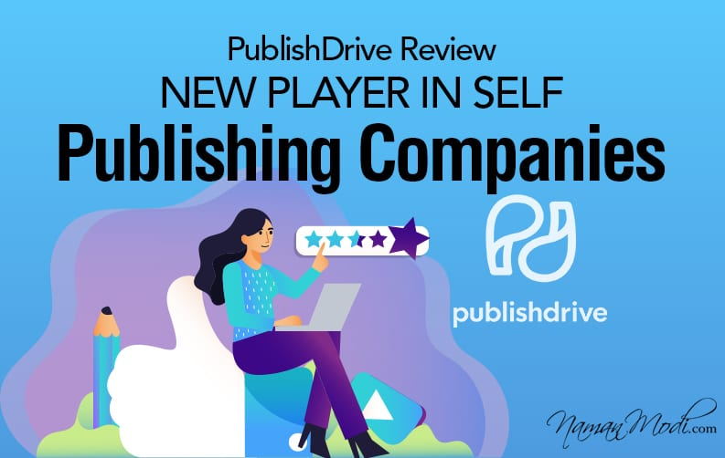 PublishDrive Review: New Player in Self-Publishing Companies