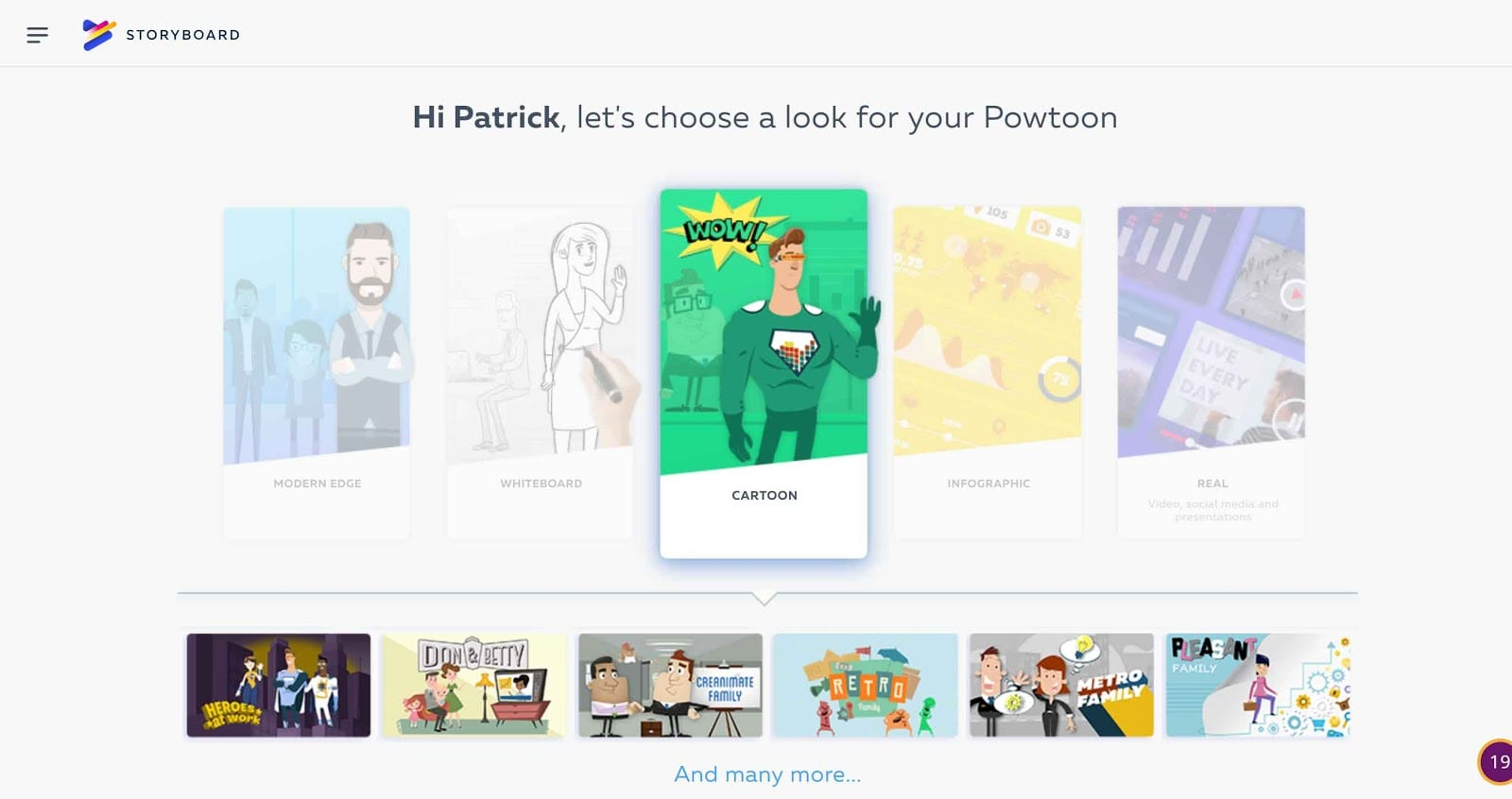 Powtoon- Styles